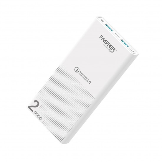 Faster M20QC Family Series Power Bank  Price in Pakistan