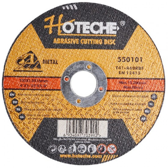 Hoteche 550101 Cutting Disc For Metal/Steel  Price in Pakistan