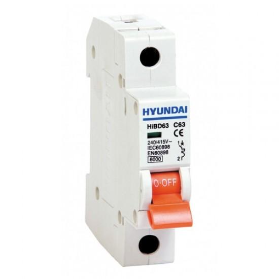 Hyundai HiBD-H 1P Miniature Circuit Breaker  Price in Pakistan