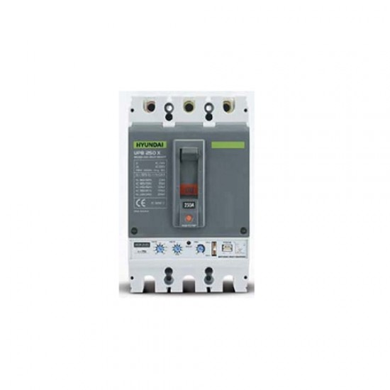 Hyundai UCB800LF Extra Power Breaking Capacity Adjustable MCCB Model  Price in Pakistan