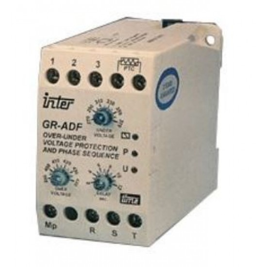 Inter GR-ADF Surface Mounting Under & Over Voltage Relay  Price in Pakistan