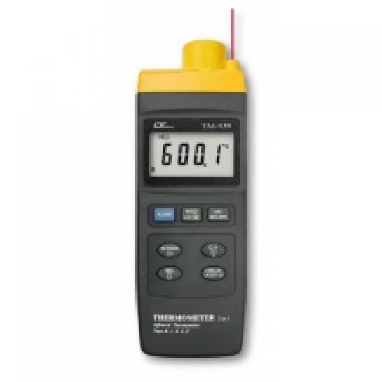 Lutron TM-939 Infrared Thermometer (For High Temp. + Type K/J/R/E/T)  Price in Pakistan