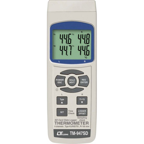 Lutron TM-947SD Digital 4-Channel Thermometer With Datalogger  Price in Pakistan