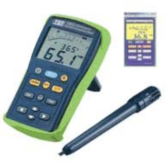 TES-1365 Datalogging Humidity Temperature Meter  Price in Pakistan