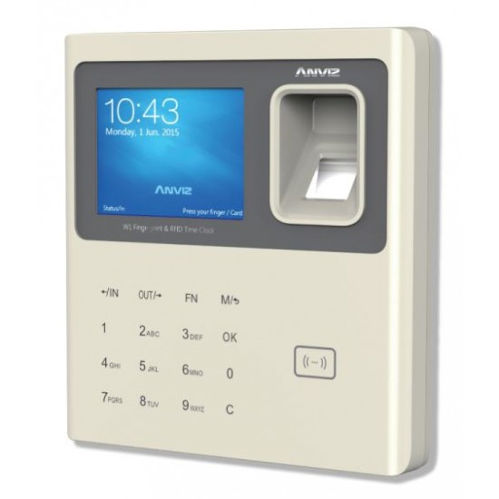 W1 Color Screen Fingerprint & RFID Time Attendance  Price in Pakistan