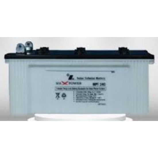 Max Power MPT240 Tubular Battery (12V 100Ah/20HR)  Price in Pakistan