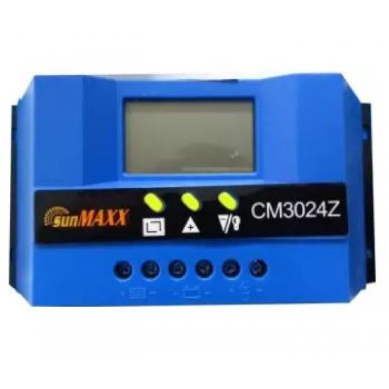 SunMaxx Solar Charge Controller 30A With Ampere Show Option  Price in Pakistan