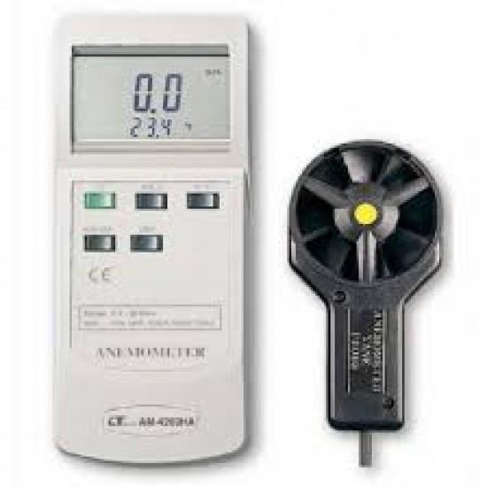 Lutron AM-4203HA Anemometer/Air Flow Meter (W/Temperature)  Price in Pakistan