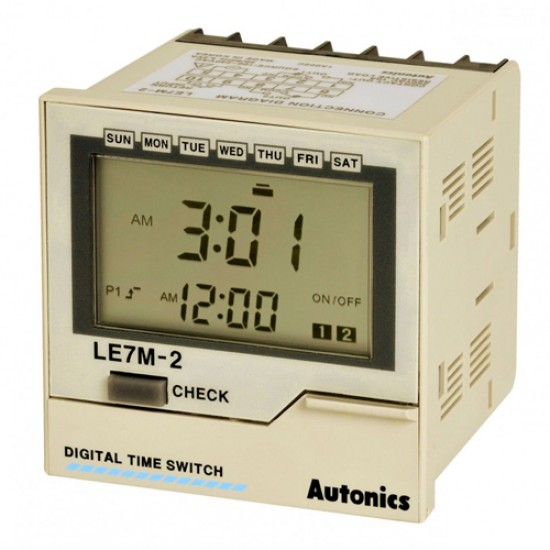 Autonics LE7M-2 Digital Weekly/Yearly Time Switch  Price in Pakistan