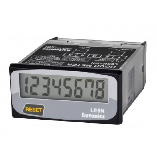 Autonics LE8N-BF Compact 8-Digit LCD Digital Timer (Indicator Only)  Price in Pakistan