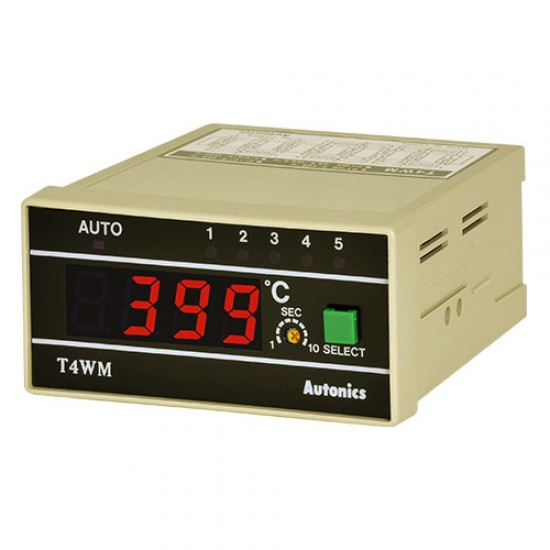 Autonics T4WM Model B Digital Temperature Indicator 5 Input Type  Price in Pakistan