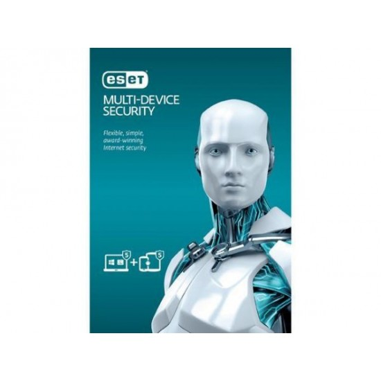 ESET Multi Device Security pack (5 devices) 1Year  Price in Pakistan