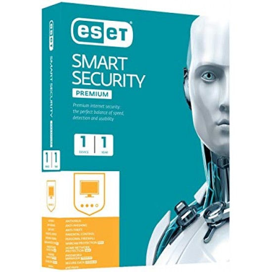 ESET Smart Security V9 Home Edition New 1 User  Price in Pakistan