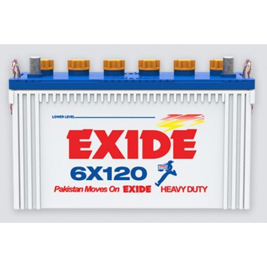 Exide 6X120 15 Plates 90 Ah Battery  Price in Pakistan