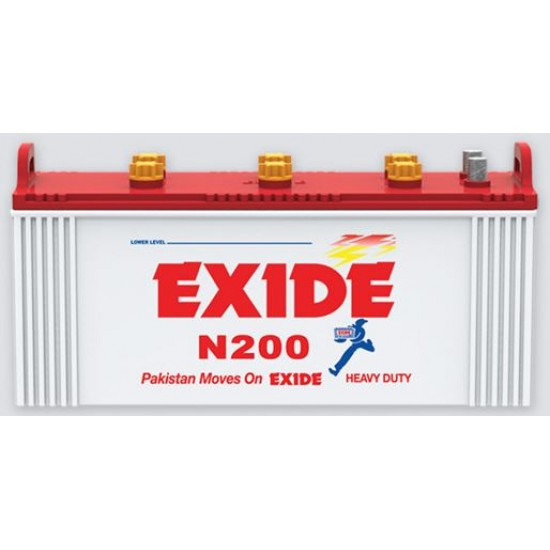 Exide N200 Battery 23 Plates 155 Ah  Price in Pakistan