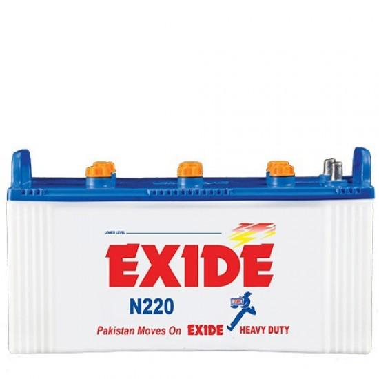 Exide N220 Battery 25 Plates 170 Ah  Price in Pakistan