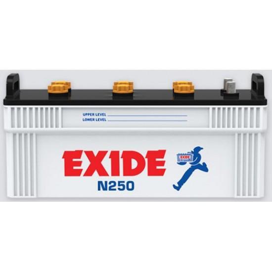 Exide N250 Plus Battery 31 Plates 200 Ah  Price in Pakistan