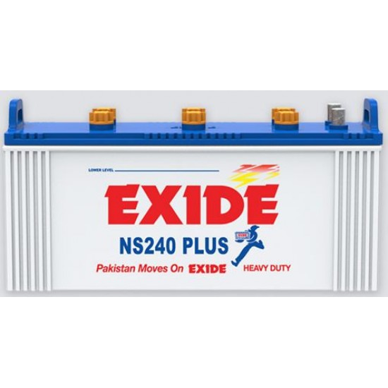 Exide NS240 Plus Battery 27 Plates 180 Ah  Price in Pakistan