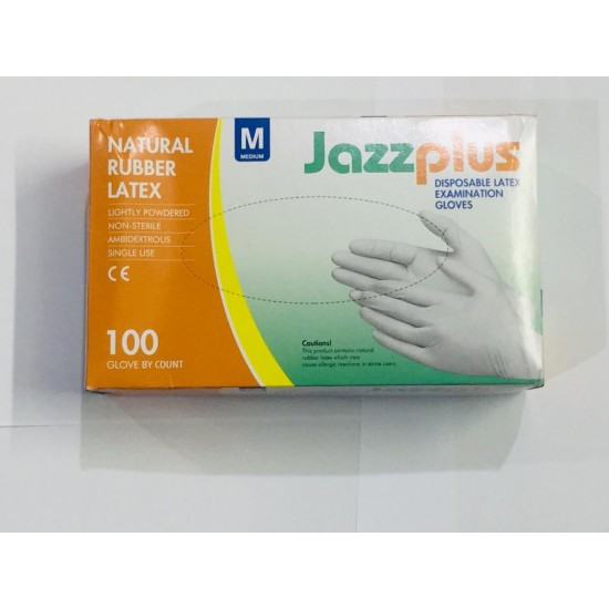 Disposable Latex Hand Gloves 1Box 100 Pcs (50 Pair)  Price in Pakistan