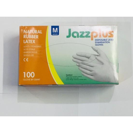 Disposable Latex Hand Gloves 1Box 100 Pcs (50 Pair)