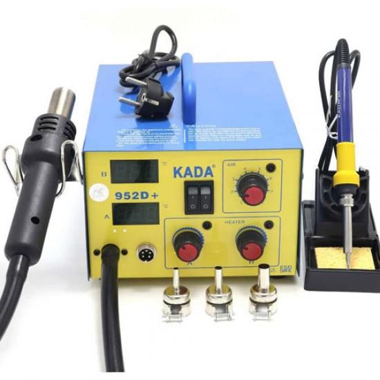 KADA 952D+ Dual Digital System  SMD/SMT Rework Soldering Station  Price in Pakistan