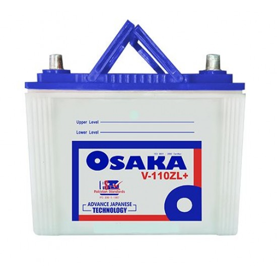 Osaka V110ZL Plus Lead Acid Battery 15 Plates 85 AH  Price in Pakistan