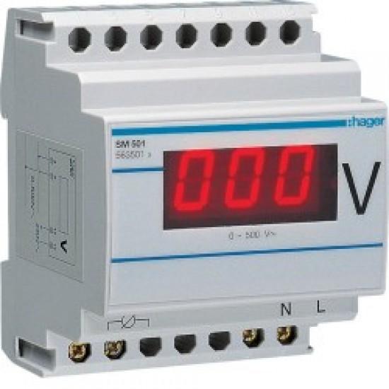 Hager SM501 Digital Voltmeter