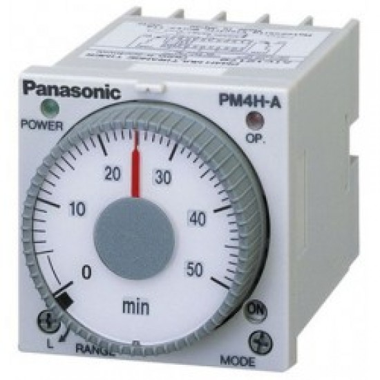 Panasonic PM4HA-H (AC240V) Multi Range Electronic Timer  Price in Pakistan