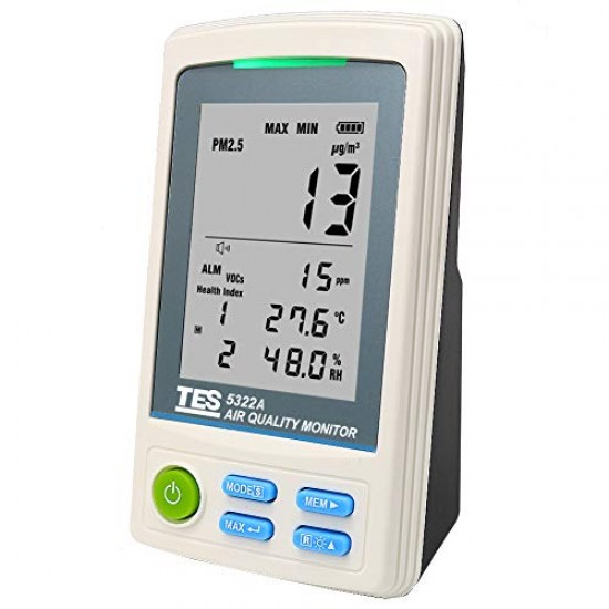 TES 5322A PM2.5 Air Quality Monitor  Price in Pakistan