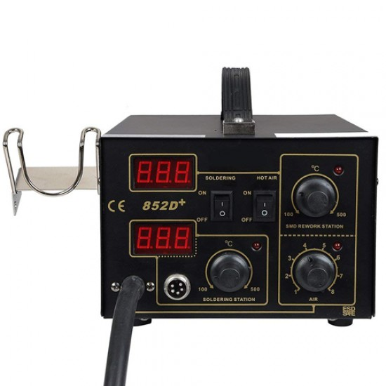 Yihua YH-852D+ 2 in1 Lead Free Soldering Station Hot Air and Iron  Price in Pakistan
