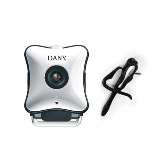 Dany Web Met RC-902 Webcam With Headset  Price in Pakistan