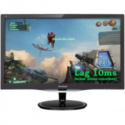 "ViewSonic VX2457-mhd 24"" Monitor for Video Gaming LCD"
