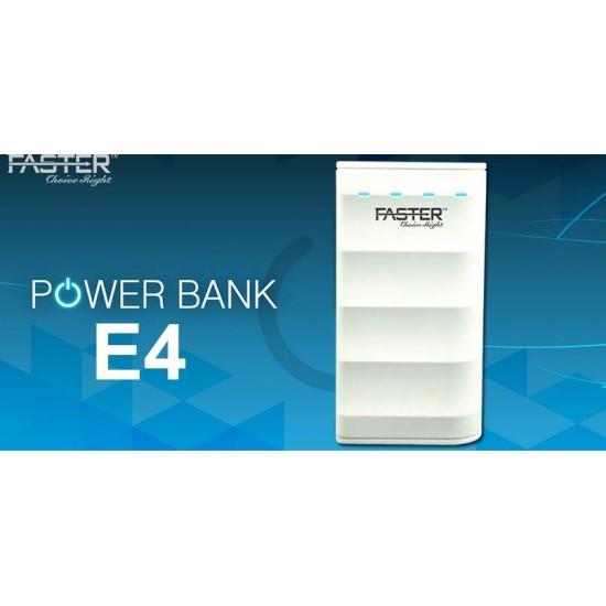 Faster (E4) 4000mAh Business Mini Power Bank   Price in Pakistan