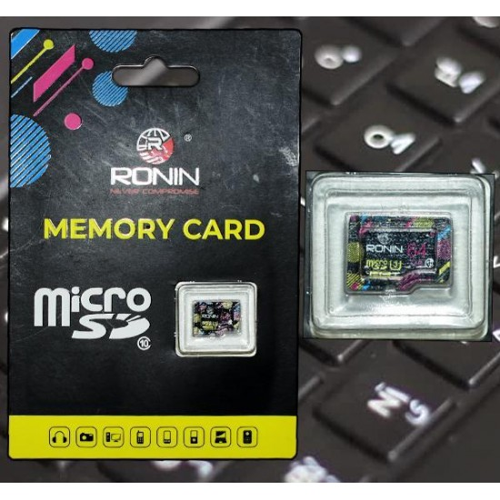 Ronin MICROSD MEMORY CARD - 8 GB  Price in Pakistan
