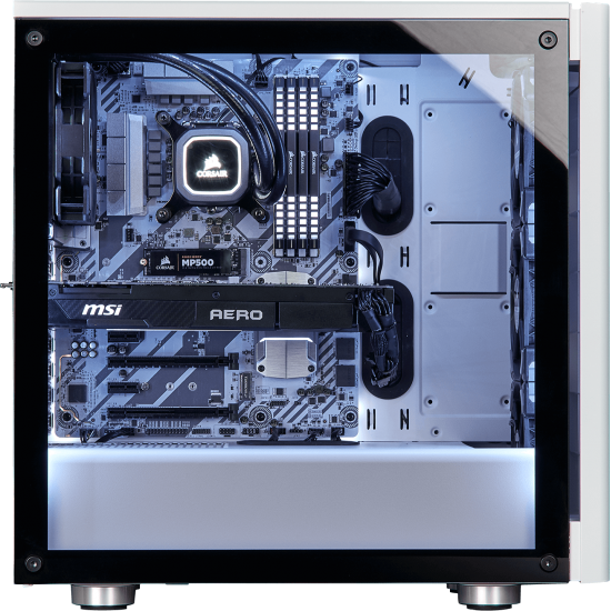 CORSAIR 275R Tempered Glass Mid-Tower Gaming Case Black  Price in Pakistan