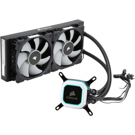 CORSAIR H100i PRO RGB 240mm Liquid CPU Cooler  Price in Pakistan