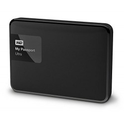 WD My Passport Ultra 1 TB Portable External Hard drive (Black)