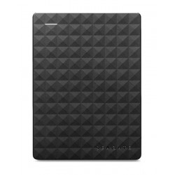 Seagate 2TB Portable External Hard Drive - Black