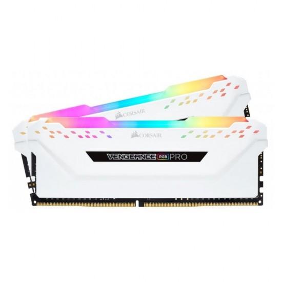 CORSAIR RGB PRO 16GB (2 x 8GB) DDR4 DRAM 2666MHz C16 Memory Kit  Price in Pakistan