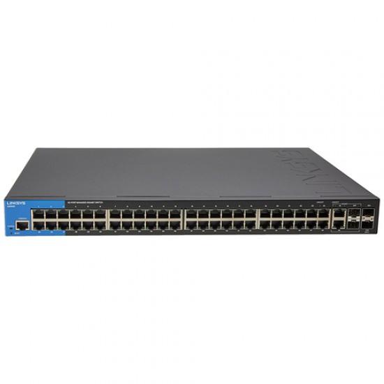 Linksys LGS552 Gigabit Switches 48-port (2 SPF 10G) + 4 combo  Price in Pakistan