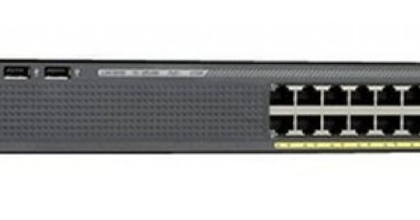 Cisco WS-C2960X-24TS-L LAN Base Switch