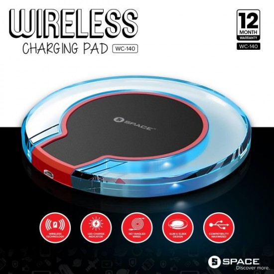 SPACE WC-140 Wireless Charging Pad