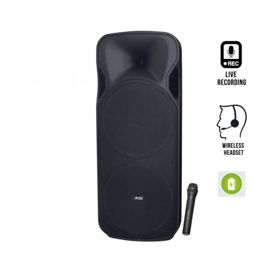 XPOD Champ-Double 15 Speaker  Price in Pakistan