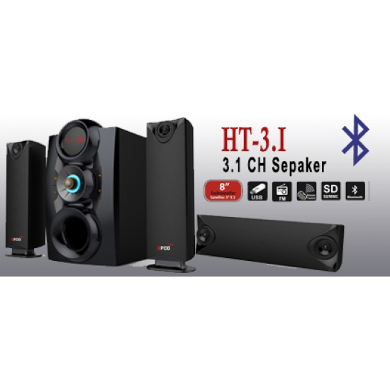 XPOD HT-3.1 Multimedia Speaker  Price in Pakistan