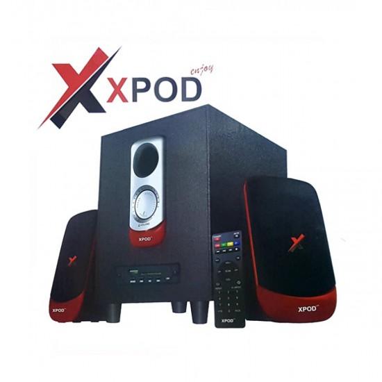 XPOD Q-250 BT Multimedia Bluetooth Speaker  Price in Pakistan
