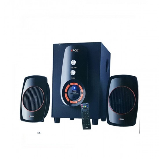 XPOD Q-350BT 2.1 Multimedia Bluetooth Speakers  Price in Pakistan