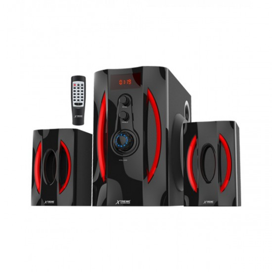 Xtreme Click 7 Extra 2.1 Bluetooth Portable Speaker  Price in Pakistan