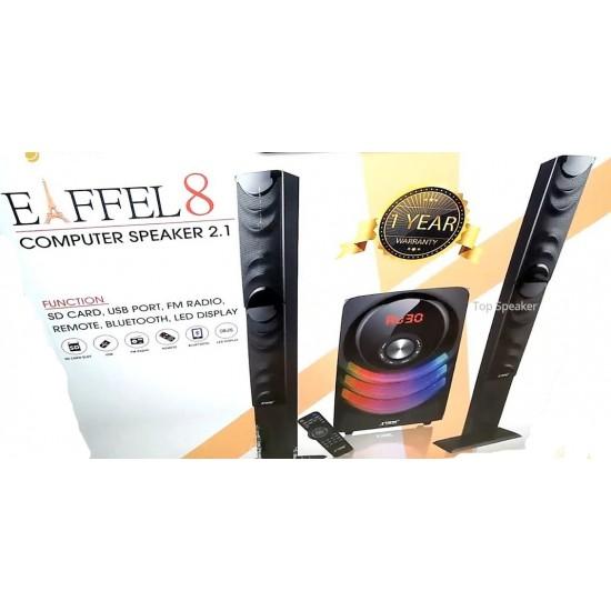 Xtreme Eiffel-8 2.1 Bluetooth Portable Speaker  Price in Pakistan