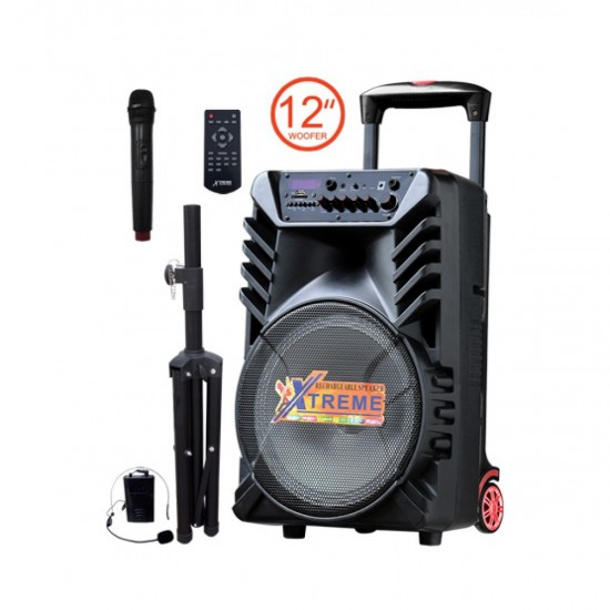 """Xtreme Party 12"""" Bluetooth Portable Speaker  Price in Pakistan"""