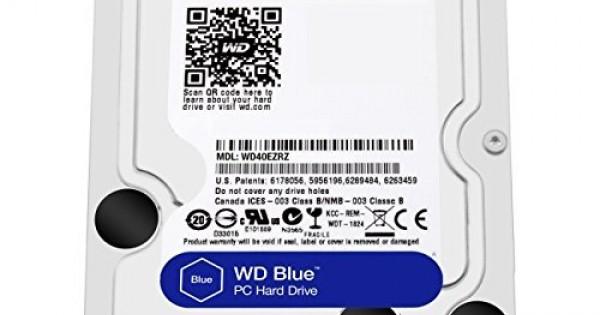 WD Blue 4TB SATA 6 Gb/s Desktop Hard Drive